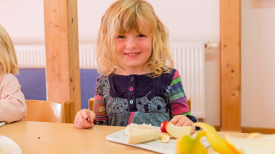Kinderland Erding – frisch und gesund